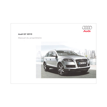 2010 audi q7 owner s manual 1st edition canadian french audi rh literature audiusa com owners manual 2010 audi a4 2010 audi q7 owners manual