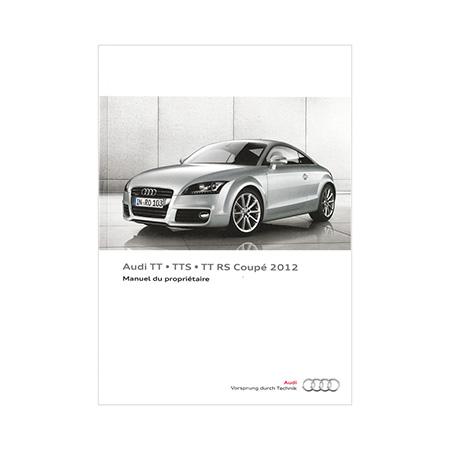 2012 audi tt tts tt rs coupe owner s manual 2nd edition canadian rh literature audiusa com 2012 Audi TT RS 2018 Audi TT RS