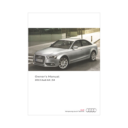 2013 audi a4 s4 sedan a4 allroad owner s manual 3rd edition rh literature audiusa com 2018 Audi S4 Manual Audi S4 Quattro