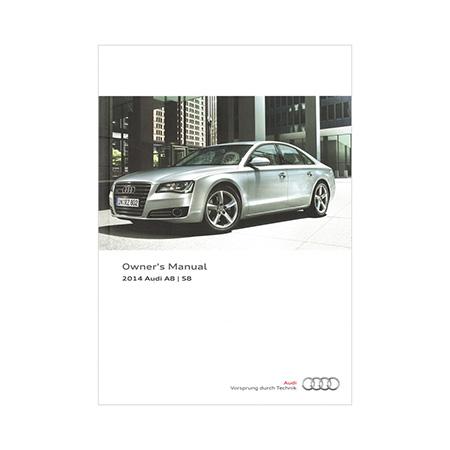 2014 audi a8 s8 owner s manual 1st edition nar english audi rh literature audiusa com audi a8 owners manual 2018 2016 Audi A4 Interior