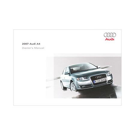 2007 audi a4 sedan owner s manual 2nd edition us english audi rh literature audiusa com audi a4 2014 owner's manual audi a4 owners manual 2011