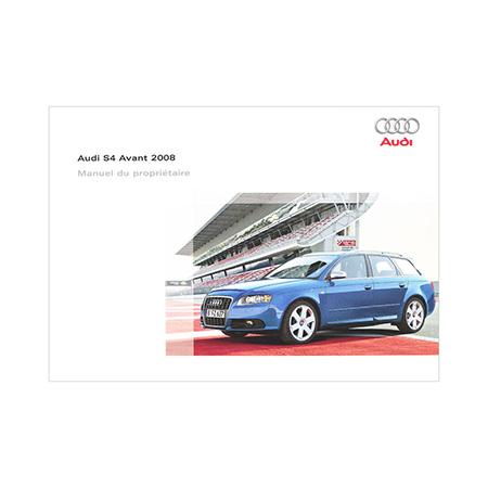 2008 audi s4 avant owner s manual 1st edition canadian french audi rh literature audiusa com audi s4 service manual pdf audi s4 service manual