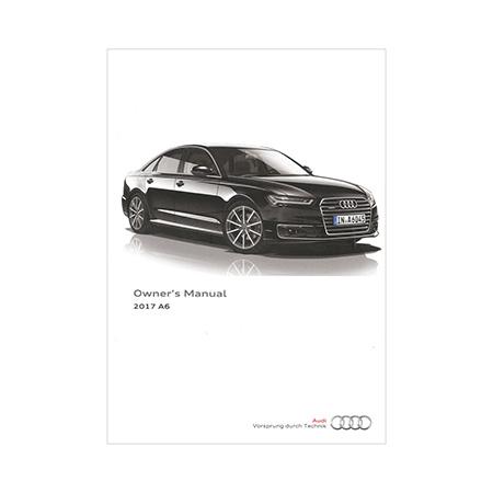 2017 Audi A6 S6 Sedan Owner S Manual 1st Edition Nar English