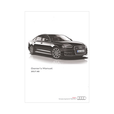 audi a6 owners manual 2017