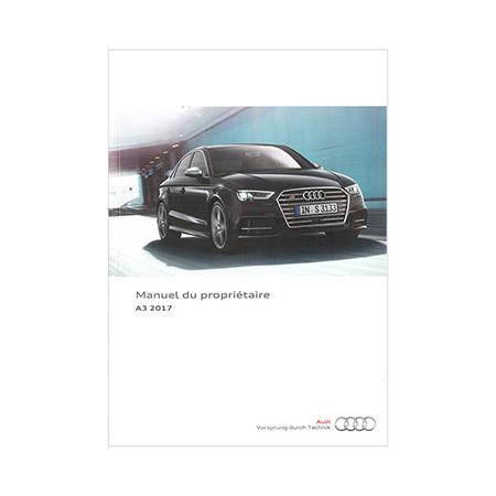 2017 Audi A3 S3 Sedan Cabriolet E Tron Owners Manual 2nd Ed